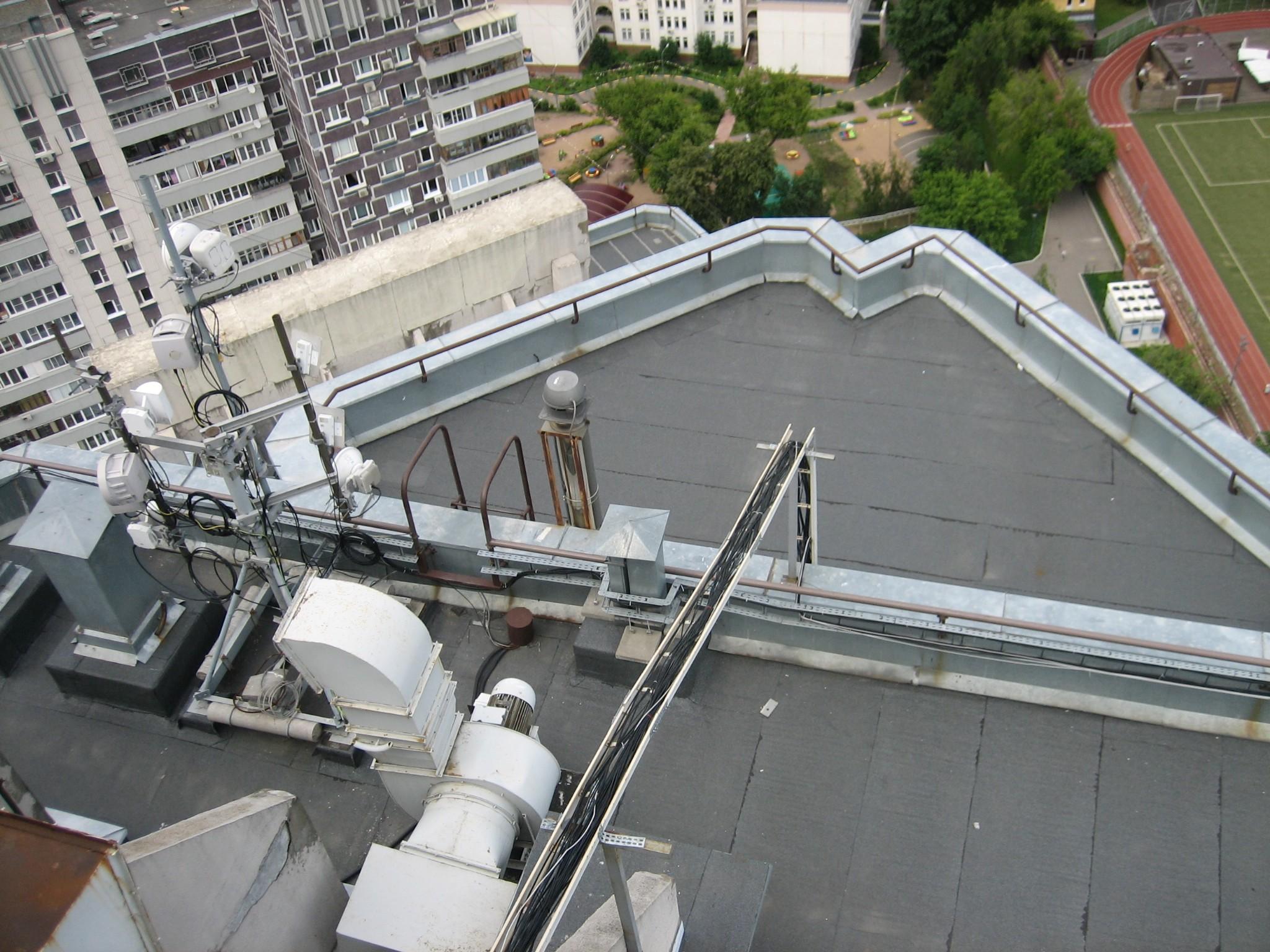 Капитальный ремонт плоской крыши мкд